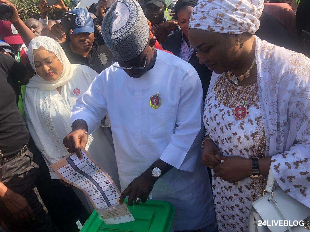 20191116080027 708226 - Kogi Decides: Governor Yahaya Bello Cast His Vote
