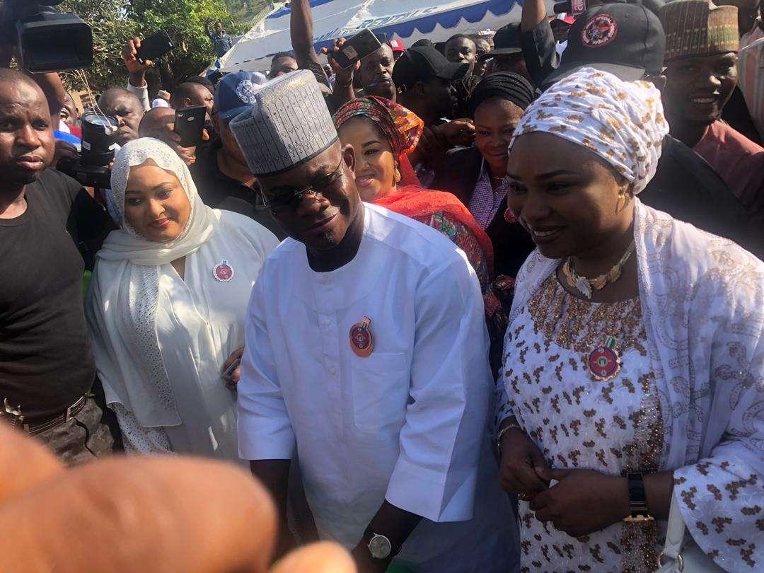 20191116080039 959448 - Kogi Decides: Governor Yahaya Bello Cast His Vote
