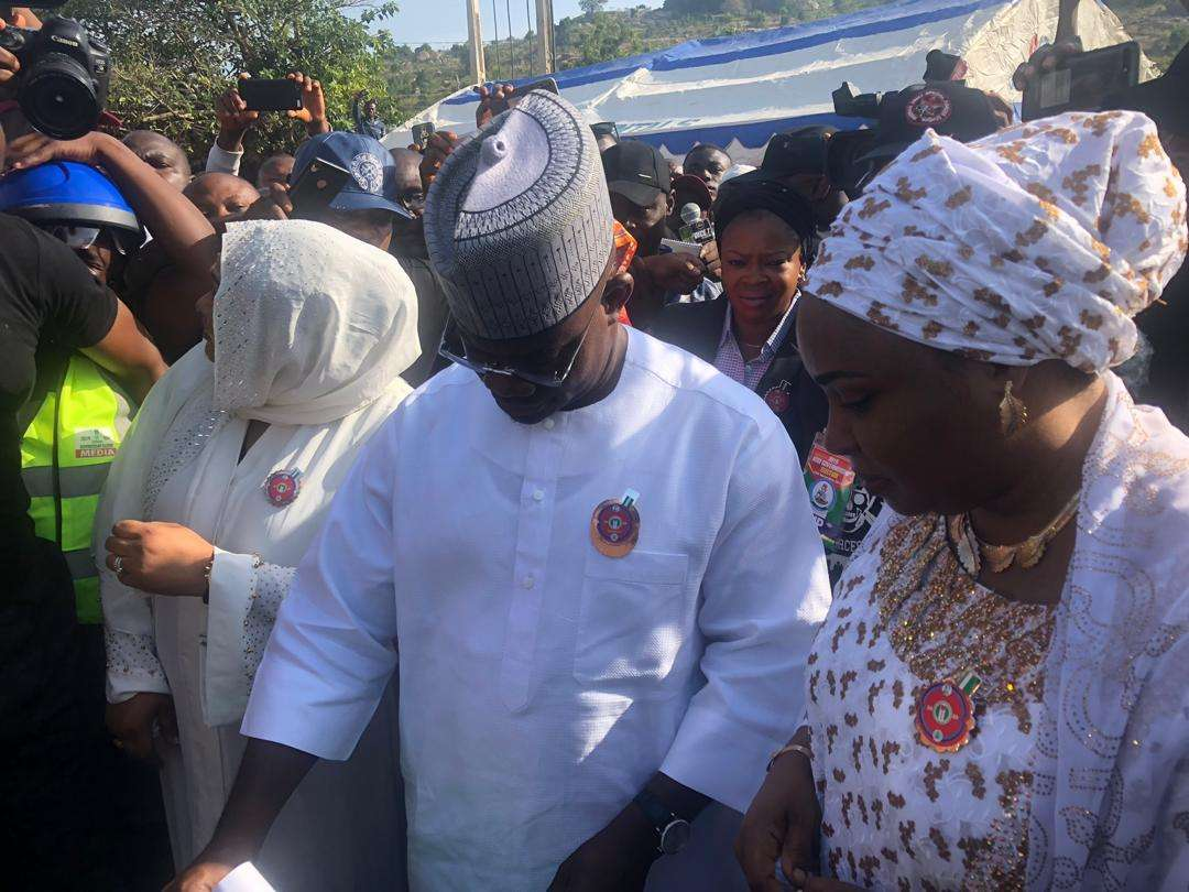 20191116080042 658512 - Kogi Decides: Governor Yahaya Bello Cast His Vote