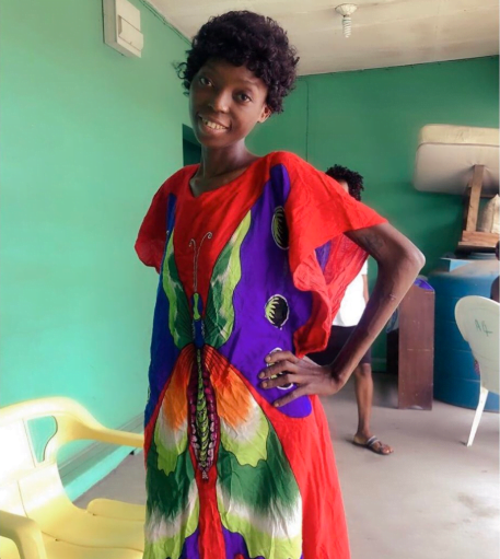 rehabb 02 - Photos: Remember Ene, The Naked, Malnourished Lady Found In Ajah Last Month? Here Is What She Looks Like Now