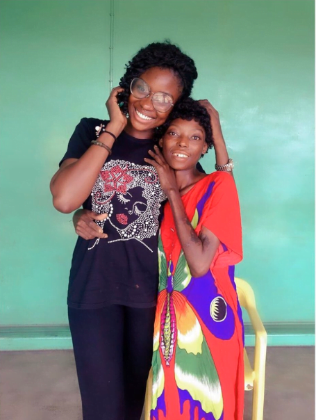 rehabb 03 - Photos: Remember Ene, The Naked, Malnourished Lady Found In Ajah Last Month? Here Is What She Looks Like Now