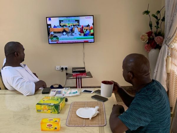 yahaya bello2 - PHOTOS: See What Yahaya Bello Is Doing As INEC Announces Kogi Election Results
