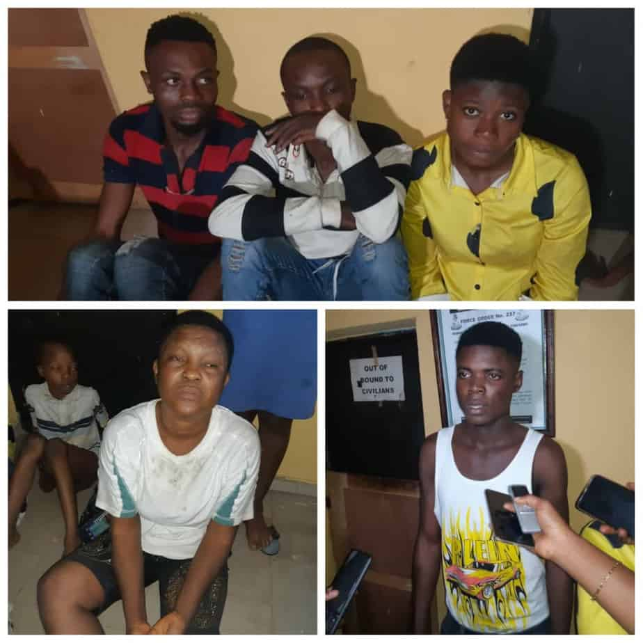 5f60ebb60aba0 - Photos: We Sell The Children Between 200k & 400k – Suspected Child Traffickers
