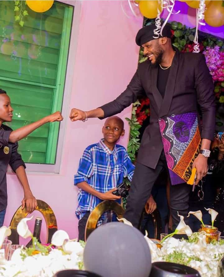 5f678965a764e - Lovely Photos Of Tuface's Kids Emerges Online As He Turns 45