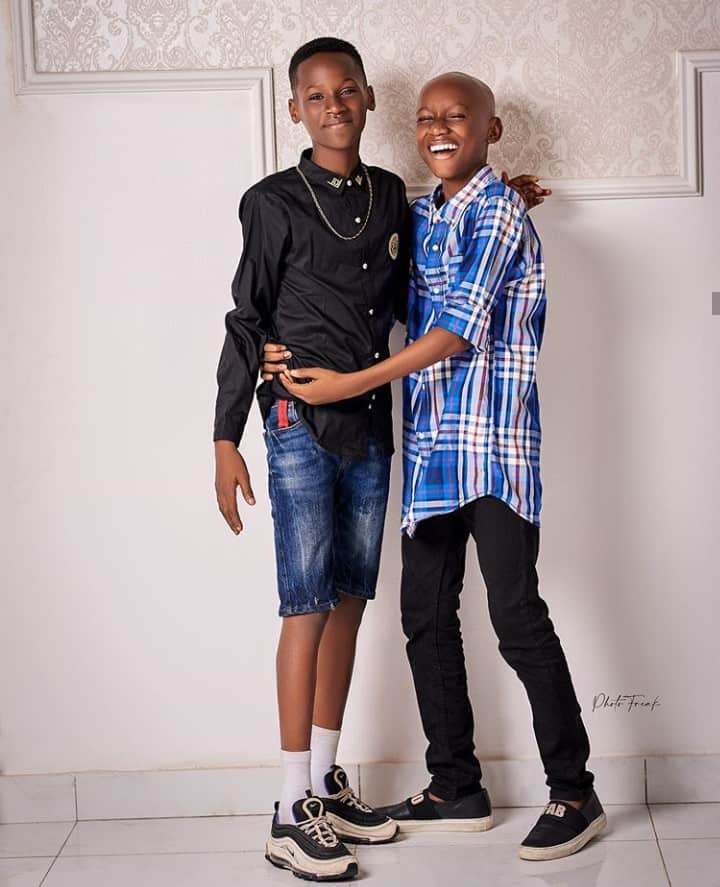 5f67897d37df1 - Lovely Photos Of Tuface's Kids Emerges Online As He Turns 45