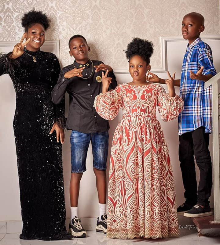 5f678a3e65fc7 1 - Lovely Photos Of Tuface's Kids Emerges Online As He Turns 45