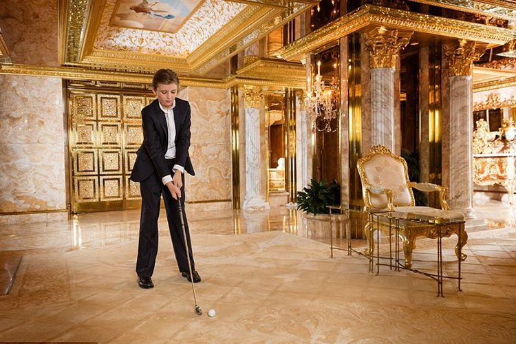 U.S President-elect, Donald J. Trump's golden bedrooms
