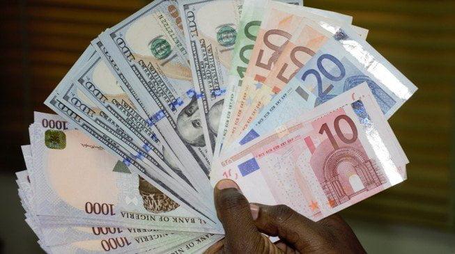 Naira and Dollar currencies