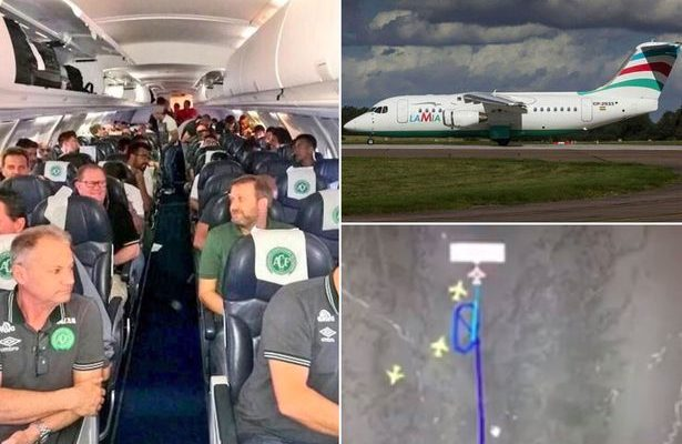 A flight carrying a popular Brazilian football team went down en route to Colombia [File: EPA]