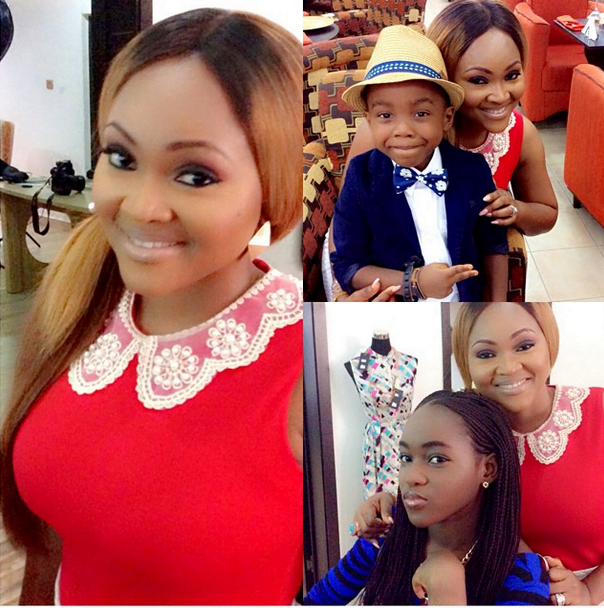 mercy-aigbe-and-kids
