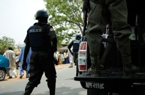 Nigeria Police 613x450 613x400 300x196 - Police Arrests Man Over 'Sex Movie' Clip Inside Osun Grove