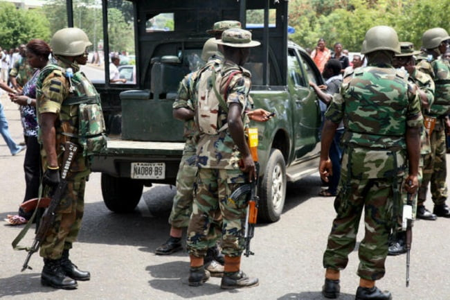Soldiers have been deployed after renewed violence in Oshodi, Lagos.