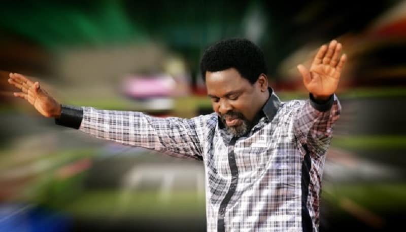 VIDEO: TB Joshua 'Storms' Isolation Centres, 'Heals' COVID-19 Patients