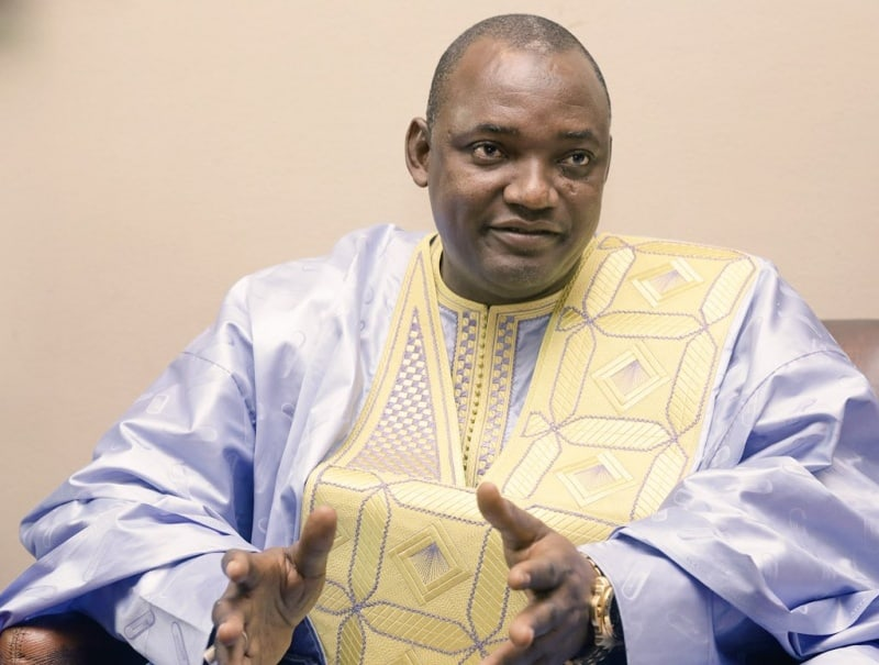 Adama Barrow removes Islamic from Gambia's name