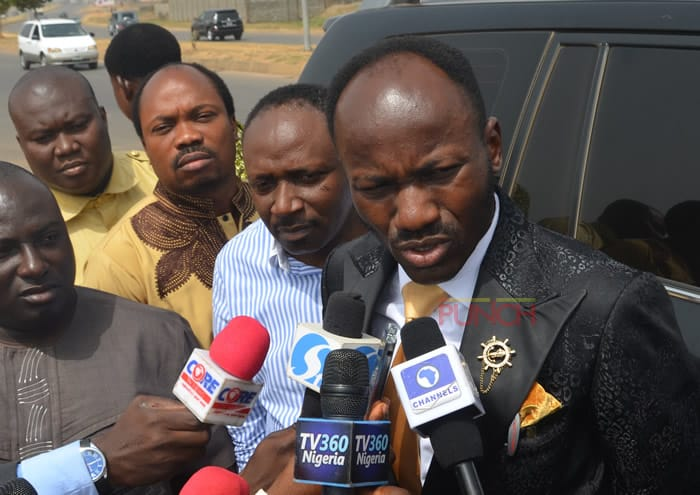 What Apostle Suleman Said About Xenophobic Attacks On Nigerians