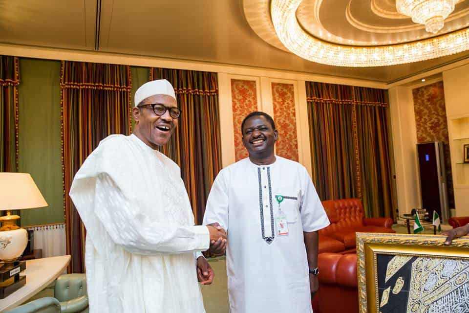 Buhari calls Femi Adesina, here's what they discussed