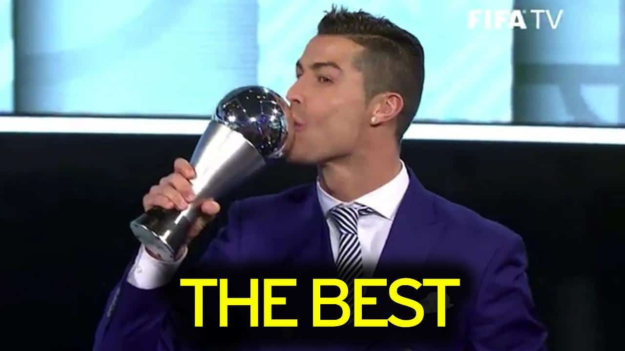 Cristiano Ronaldo Becomes First Player To Win FIFA's Best ...