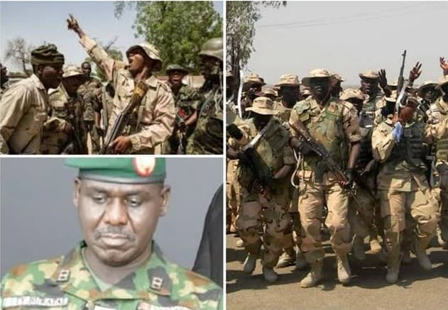 Leaked video Nigerian soldiers speaks on why they protested in Sambisa