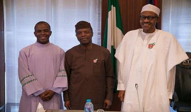 Nigerians Should Thank God For Giving Us Buhari - Mbaka