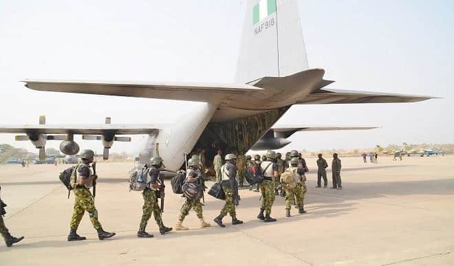 Boko Haram: Air Forces Destroys ISWAP Storage Base In Borno