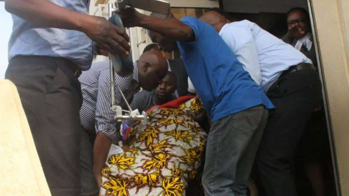 Ada Ugo-Ngadi collapses on her wheel after sentencing
