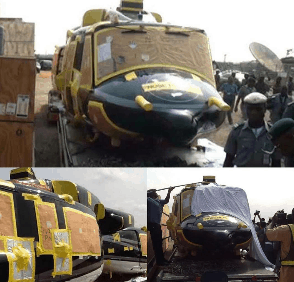 helicopter seized by nis2