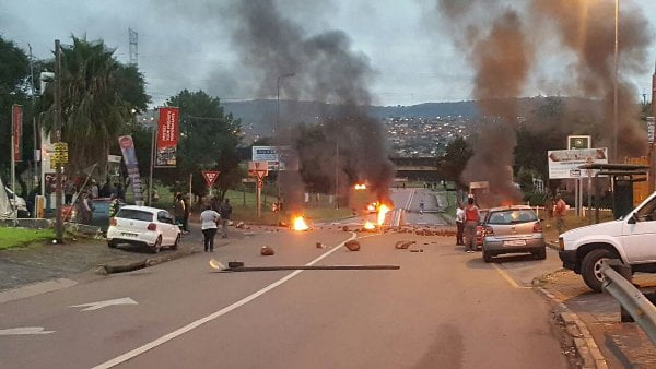 Anti-immigrant protests turn violent in South Africa