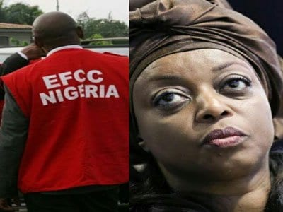 EFCC Breaks Silence On Dropping Corruption Charges Against Diezani