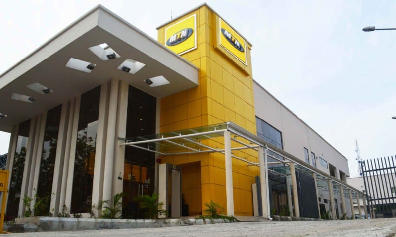 Robbers Attack MTN Office