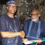 Mimiko hands over to Akeredolu