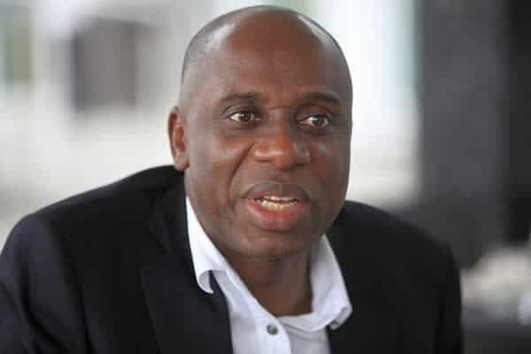 Amaechi Gives Update On Construction Of Lagos-Calabar Railway