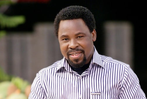 TB Joshua Reveals What Late President Yar'Adua Told Him During A Phone Call