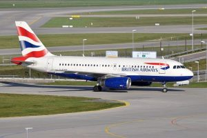 british airways plane 300x200 - Coronavirus: British Government Suspends All China Flights