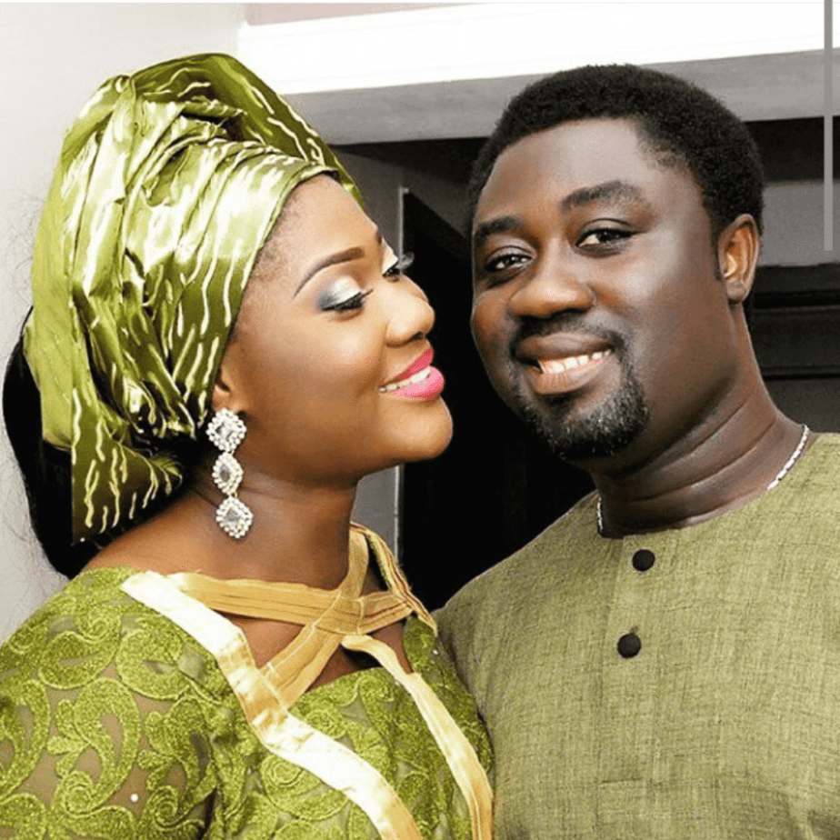 mercy- Johnson and husband