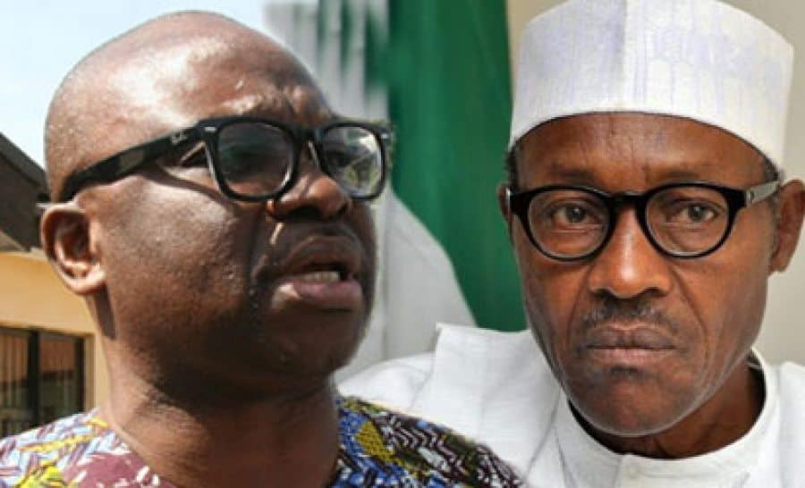 Fayose attacks Buhari over the nation's security challenges