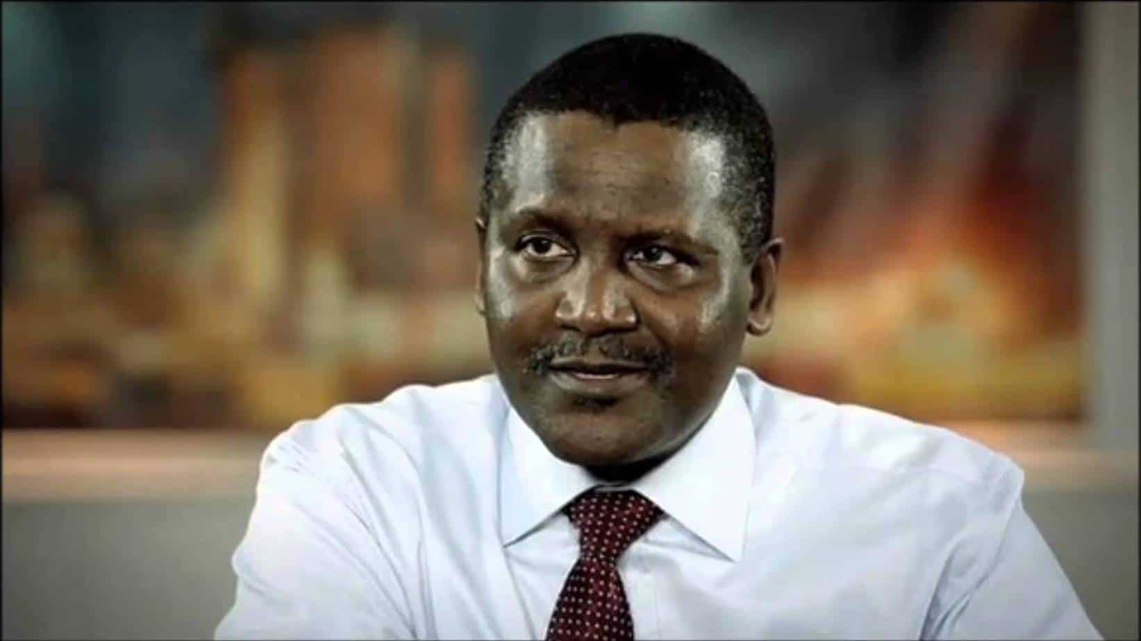 Details About Dangote's wife and children