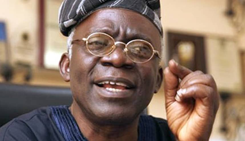 Femi Falana 1 - 'When Did They Disappear?'– Falana Blasts Navy Over 'Escape' Of 15 Detainees