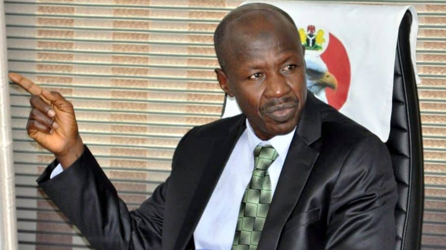 Ibrahim Magu 1 - People Bagging Sand Instaed Of Fertiliser Under CBN's Anchor Borrowers' Programme – Magu