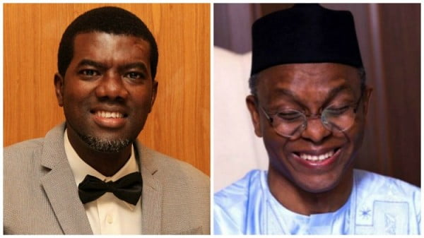Reno Omokri and EL-Rufai