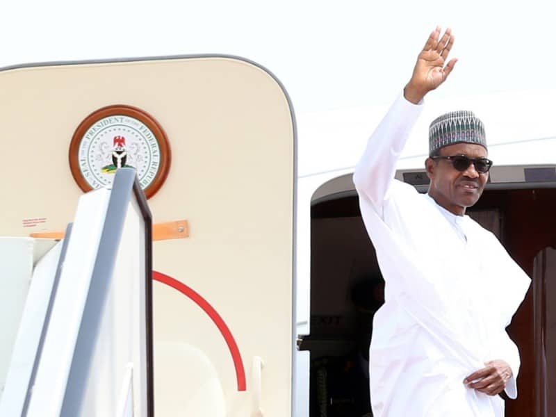Buhari is expected back in Nigeria by Friday