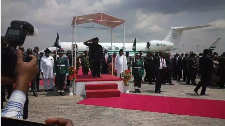 Acting President Yemi Osinbajo giving grand reception in Uyo
