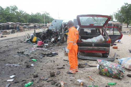Breaking: Boko Haram strikes in Maiduguri