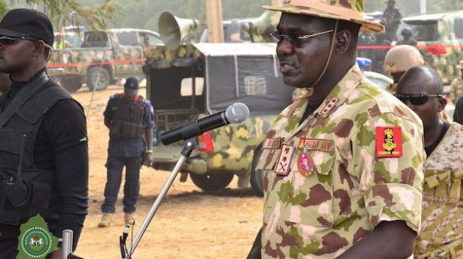 Buratai May Be Sacked As Buhari Promotes New Army Chiefs