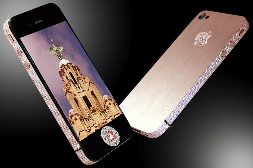 Diamond Rose iPhone 4