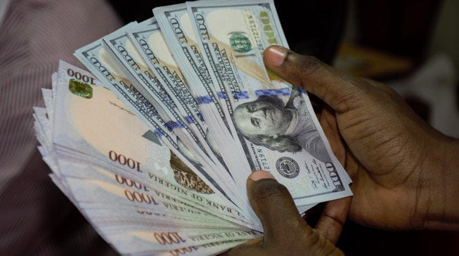 Current dollar to naira exchange rate as at Tuesday, 3rd April