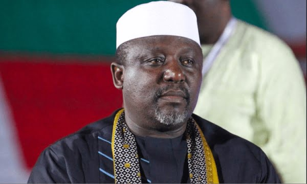 Okorocha: Buhari Could Be Back in Two Weeks