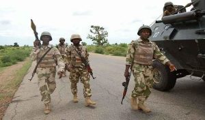 kill 21 Boko Haram fighters 300x176 - Troops Kill Female Suicide Bomber, 7 Others, Recover Weapons