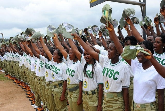 NYSC Batch A Corp Members Pass Out From National Service