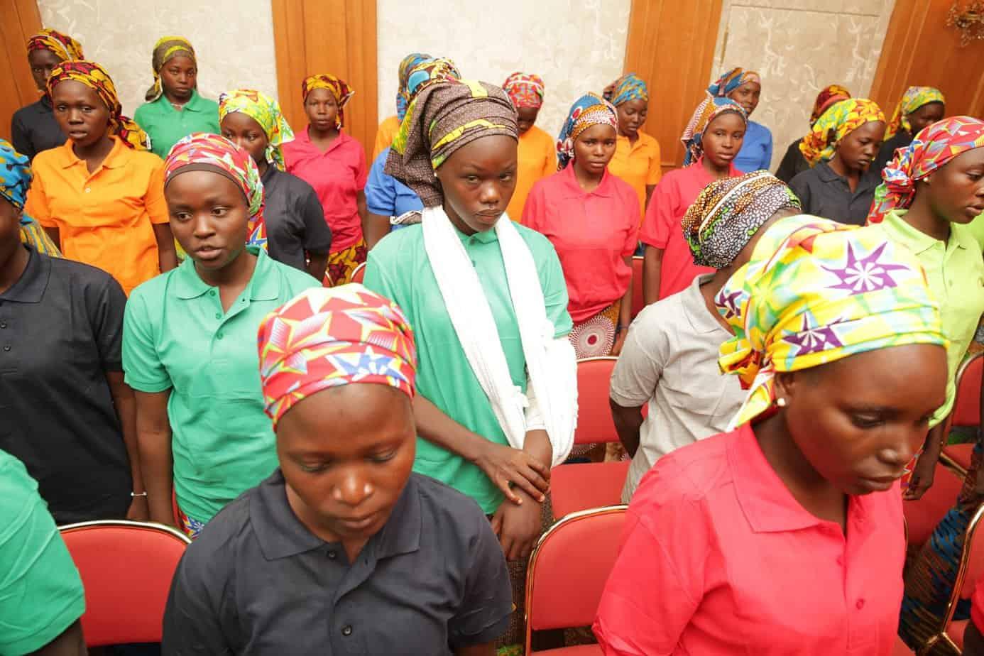 Twenty-four Chibok girls to return to school: Nigerian officials