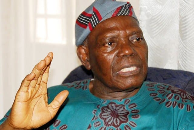 Bisi Akande Calls For Change Of Nigeria's Constitution